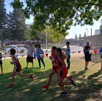 Fancher Creek Cross Country Runners at District Championships